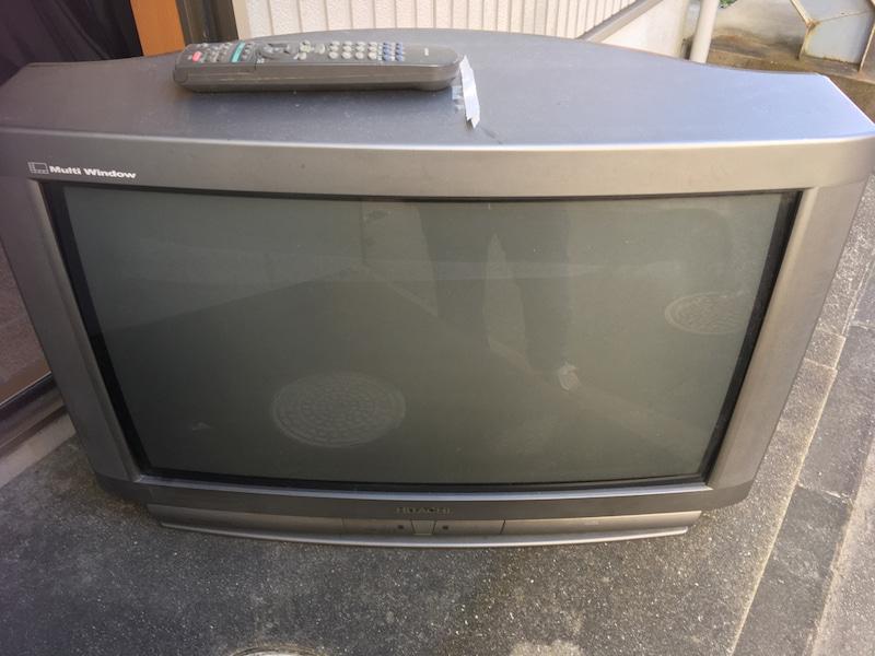 【ブラウン管テレビ処分方法3選】処分料金を下げる方法を解説(2020年版)!