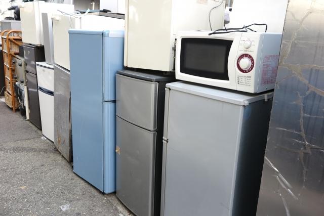 【家電撤去】家電リサイクル料金を節約するには?家電4品目の処分方法